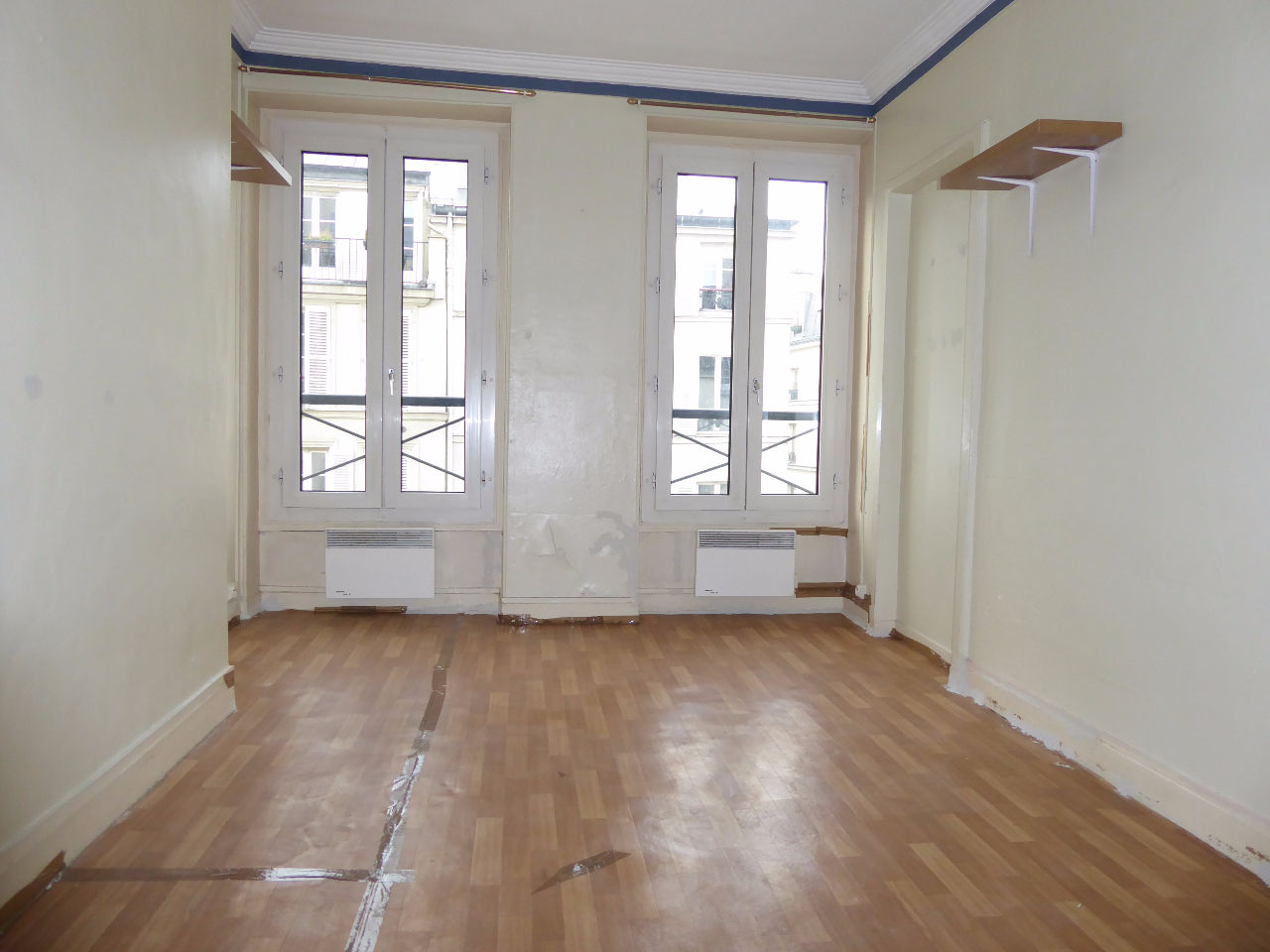 Paris 10ème - Studio de 16.50 m2